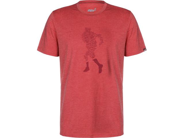 inov-8 Triblend T-Shirt Homme, dark red